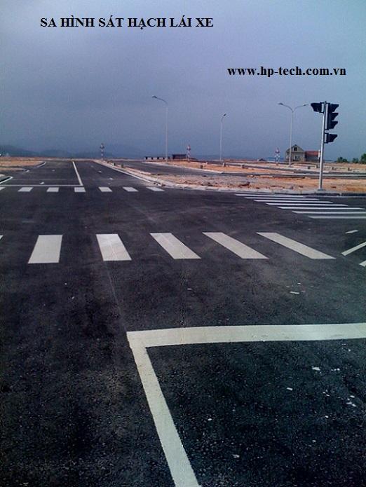 Sơn dẻo nhiệt phản quang- giải pháp cho giao thông đường bộ
