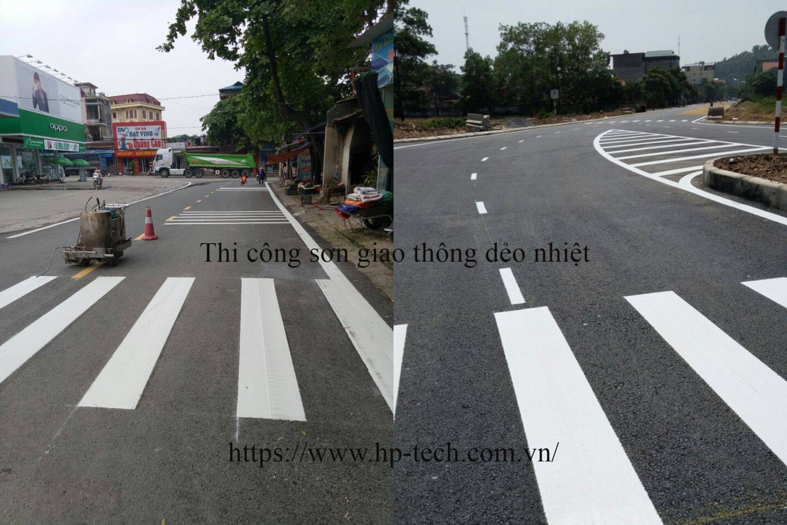Sơn kẻ đường, sơn giao thông