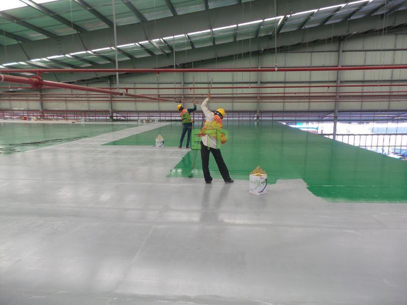 Thi công sơn sàn epoxy cần thực hiện những bước nào?